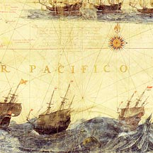 Ancient Map of the Pacific